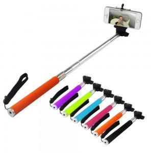 Extendable-Self-Portrait-Selfie-Handheld-Stick-Monopod-font-b-Tripod-b-font-With-cellphone-Adjustable-Clip